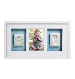 Pearhead pearhead babyprints deluxe wall frame - white