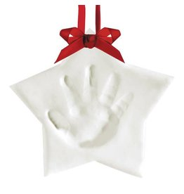 Pearhead pearhead babyprints holiday keepsake ornament - star