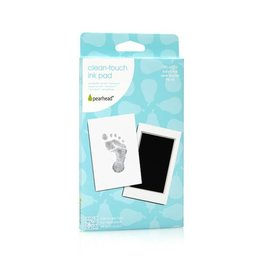 Pearhead pearhead babyprints clean touch ink pad - black