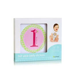 Pearhead pearhead first year belly stickers - pink