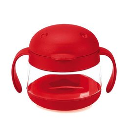 Ubbi Baby ubbi tweat snack container - red