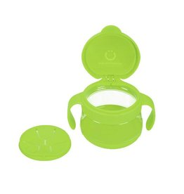 Ubbi Baby ubbi tweat snack container - green