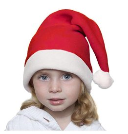 Puffin Gear puffin gear santa baby child hat polartec 200 - red