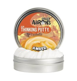 Crazy Aaron Enterprises Inc. crazy aaron's thinking putty glow in the dark - amber