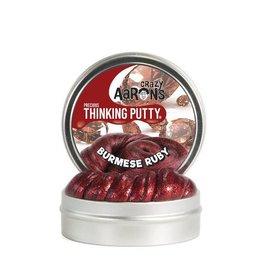 "Crazy Aaron Enterprises Inc. crazy aaron's thinking putty precious gems - burmese ruby 3.5"" tin (1.6 oz)"