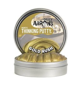 "Crazy Aaron Enterprises Inc. crazy aaron's thinking putty super magnetics -  gold rush large 4"" tin with magnet"