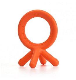 Comotomo comotomo silicone baby teether - orange