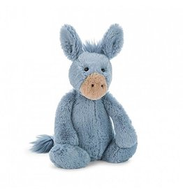 Jellycat jellycat bashful blue donkey - small