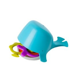 Boon boon chomp hungry whale bath toy - blue multi