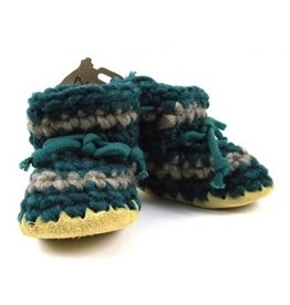 Padraig Cottage padraig cottage children's slippers - forest stripe
