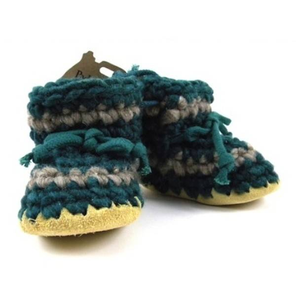 Padraig Cottage Forest Stripe Slippers