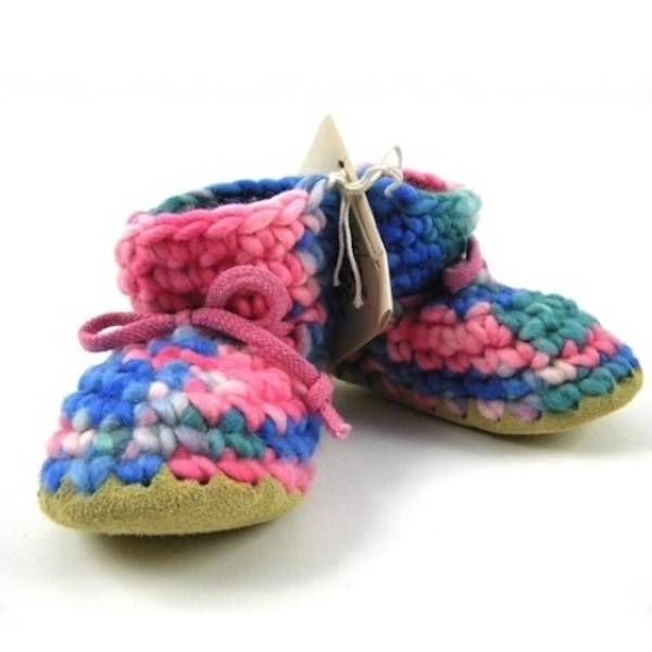 90fdfe81acf2a Padraig Cottage Pink Multi Slippers - Children's Sizes - Baby Charlotte