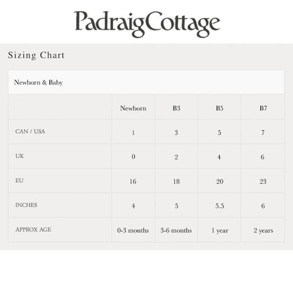 Padraig Cottage padraig cottage newborn & baby slippers - red stripe