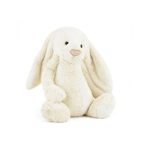 Jellycat jellycat bashful cream bunny - huge