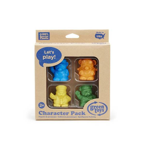 Green Toys green toys character 4 pk