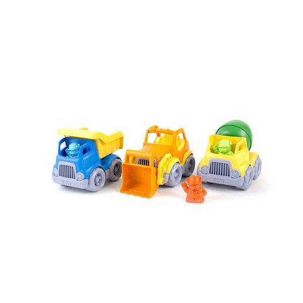 Green Toys green toys construction trucks gift set