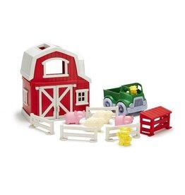 Green Toys green toys farm playset