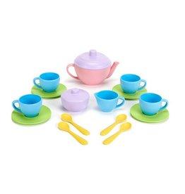 Green Toys green toys tea set pink