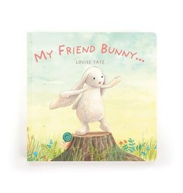 Jellycat jellycat my friend bunny hardback book