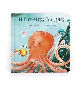 Jellycat jellycat the fearless octopus hardback book