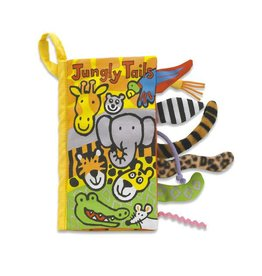 Jellycat jellycat jungly tails cloth book
