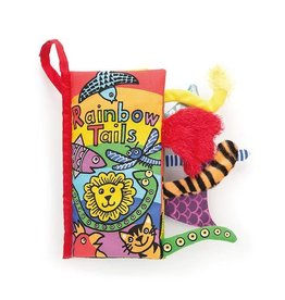 Jellycat jellycat rainbow tails cloth book