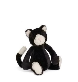 Jellycat jellycat bashful black & white kitten - small