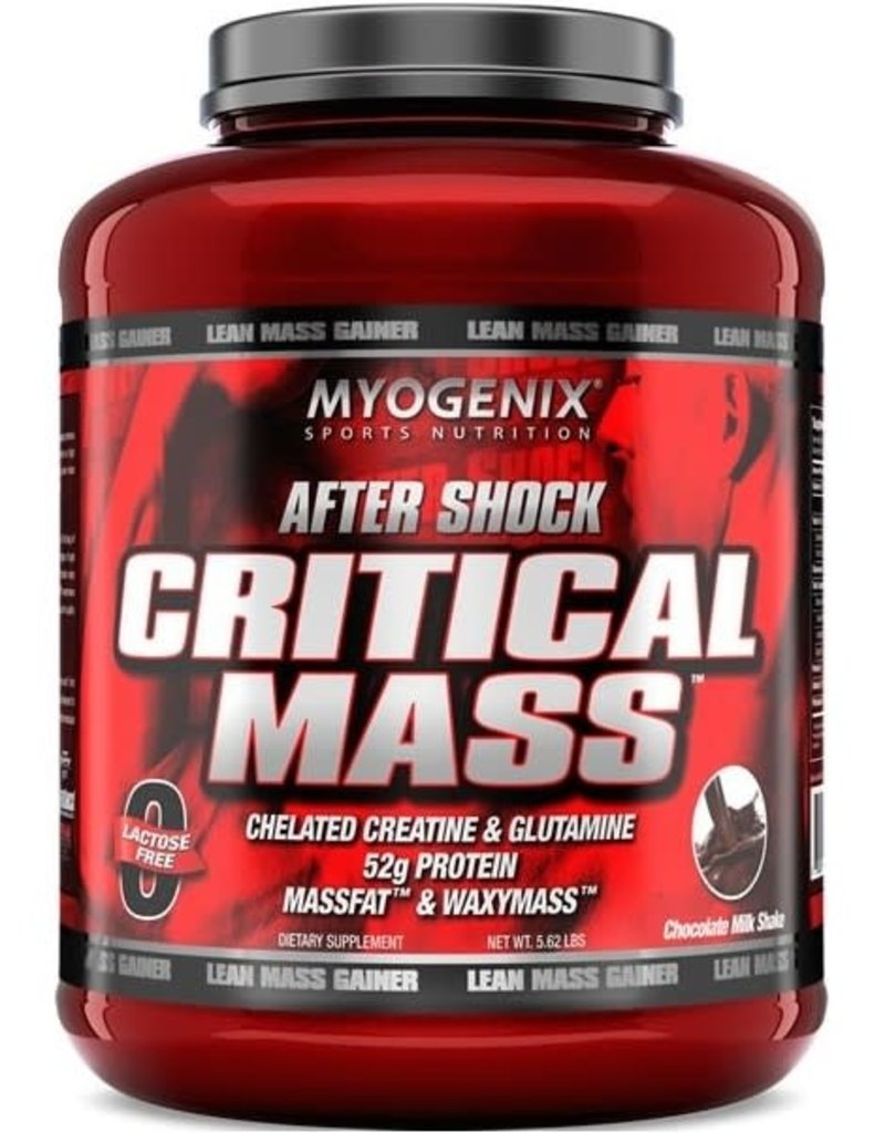 MYOGENIX AFTER SHOCK CRITICAL MASS