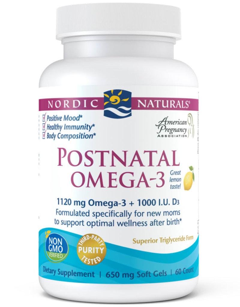 Nordic Naturals Postnatal Omega-3-Nordic Naturals