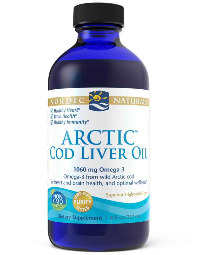 Nordic Naturals Arctic Cod Liver Oil-Nordic Naturals