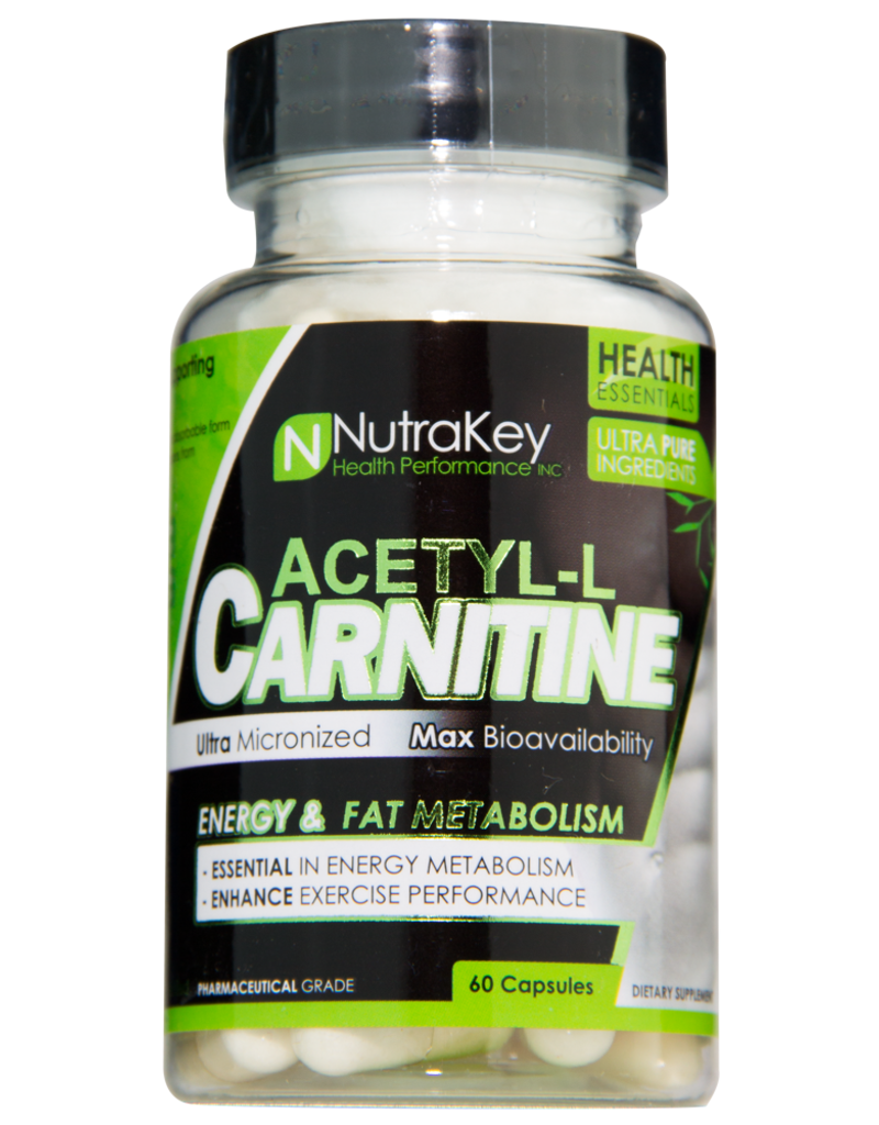 NutraKey Acetyl-L Carnitine- NutraKey