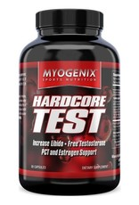 MYOGENIX HARDCORE TEST- Myogenix