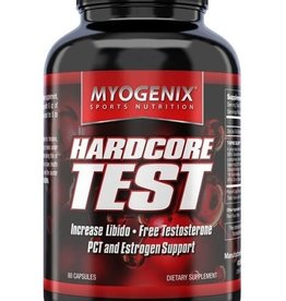 MYOGENIX HARDCORE TEST- Myogenix