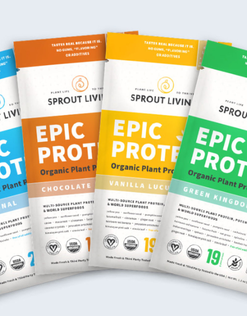 Sprout Living Epic Protein-Variety Pack-Sprout Living