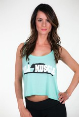 Cali Muscle OG Flowy Crop Top