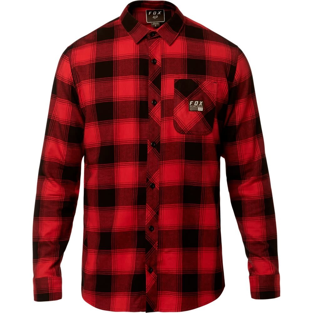Fox Head Flannel, Fox Longview Lightweight Flannel
