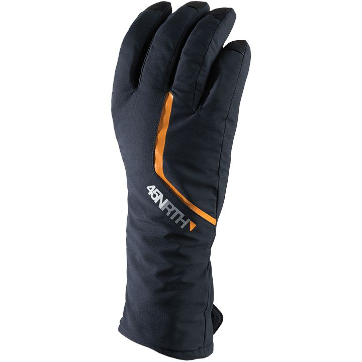 45NRTH Winter Gloves, 45N Sturmfist 5 Finger Black
