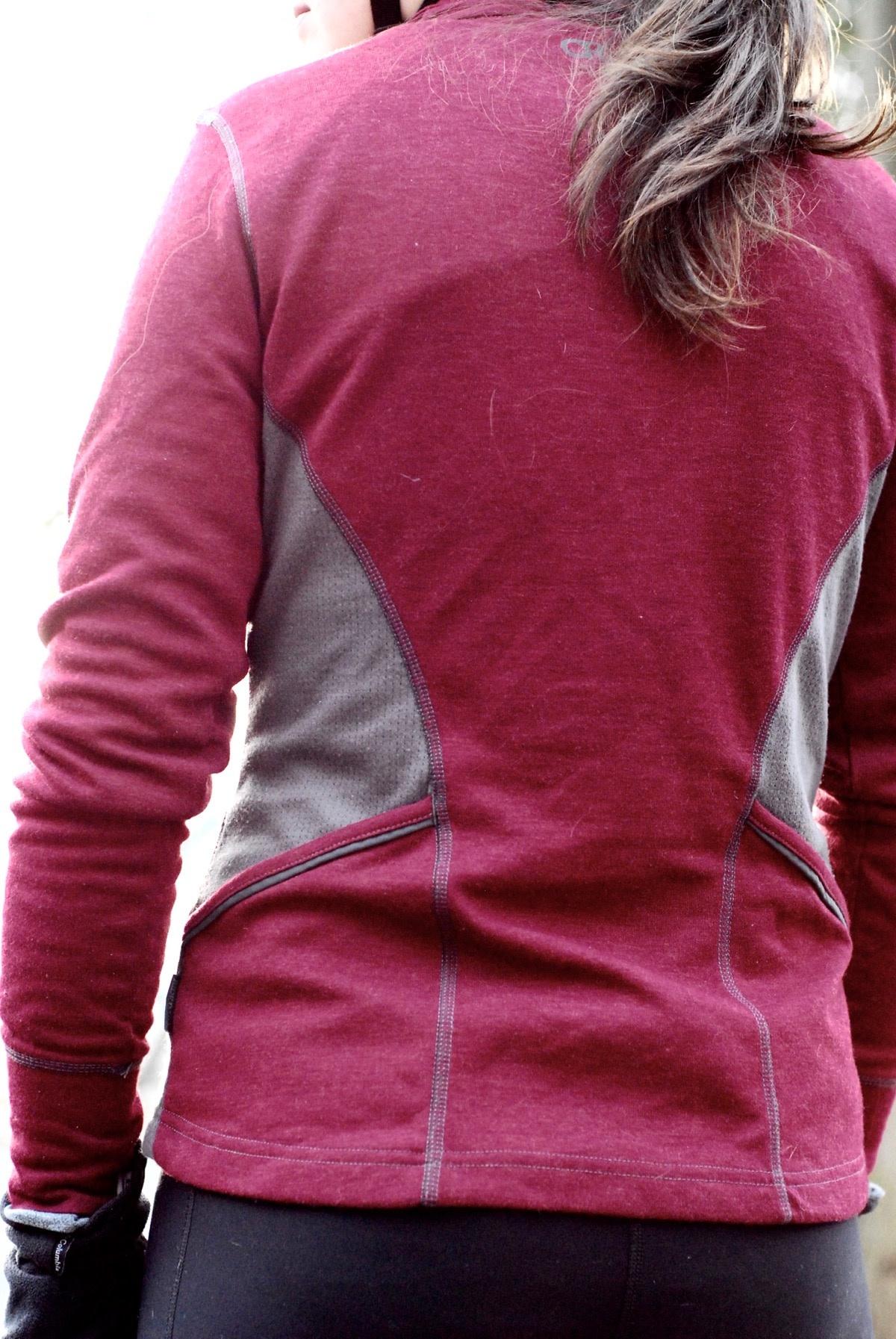 Club Ride Club Ride, Queen Anne, Long sleeve shirt, Women's, (WJQA501), Porto Red, M
