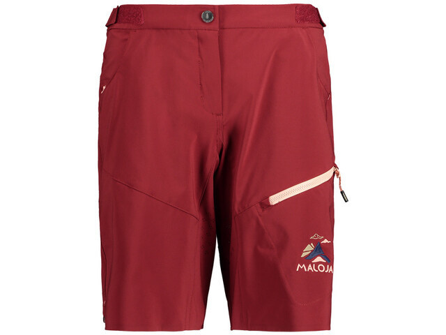 Shorts, Maloja RoschiaM red monk