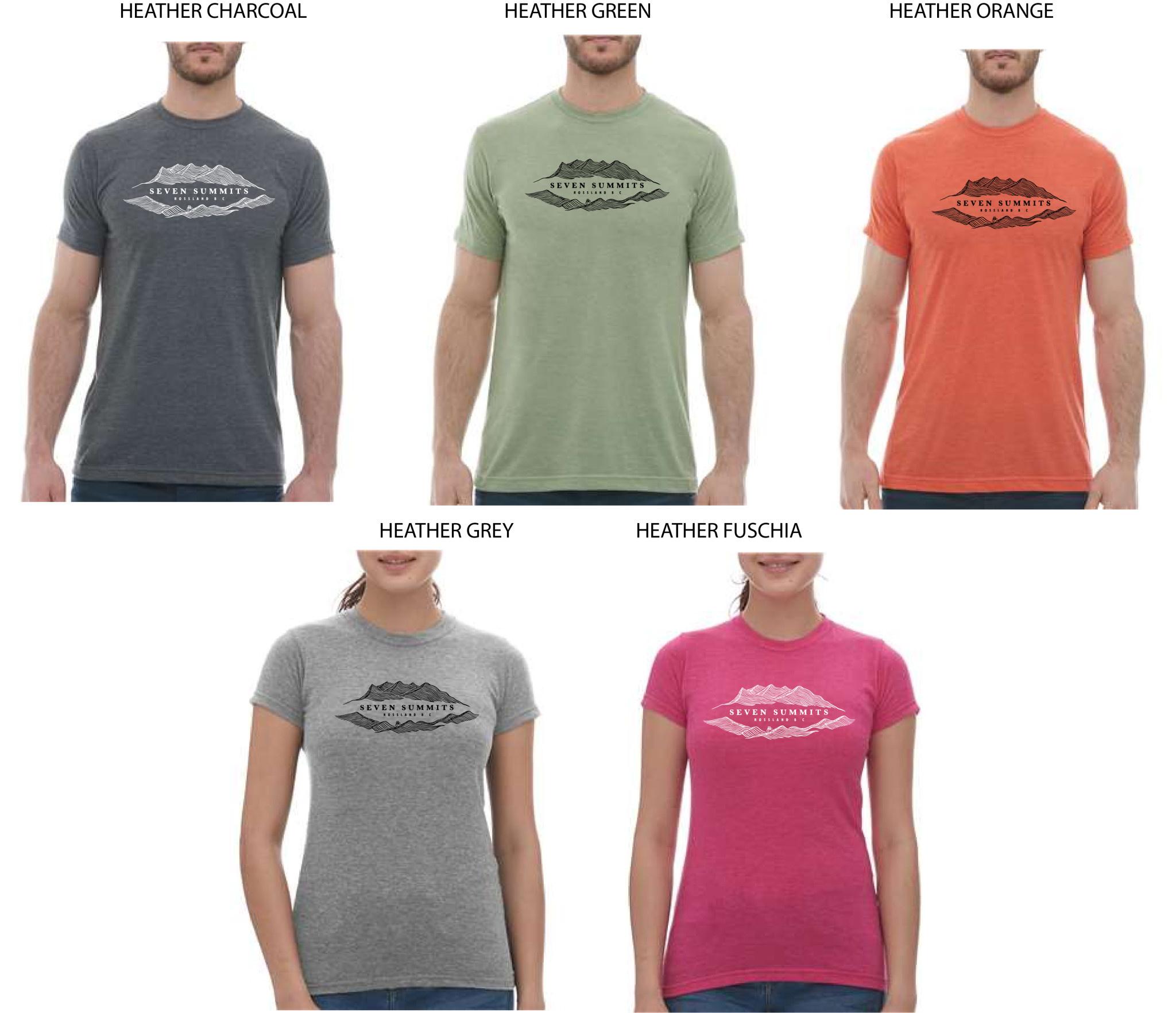 Shirts, Women's 7 Summits T-Shirt 2020