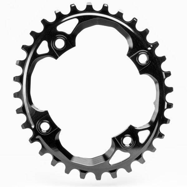 Absolute Black Chainring, Absolute Black Oval 94 BCD N/W