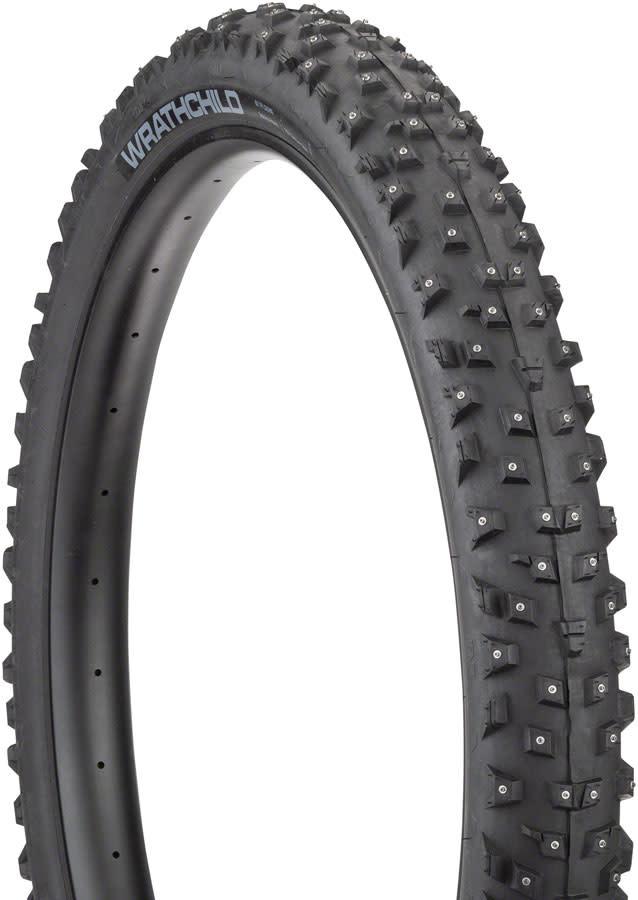 45NRTH Tire, 45NRTH Wrathchild- 27.5 x 3.0, 252 Concave Carbide Studs