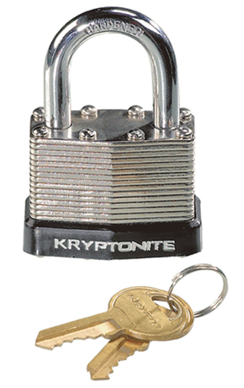 Kryptonite Lock, Kryptonite Laminated Steel Padlock 45mm