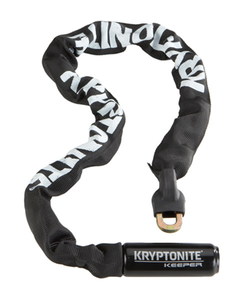 Kryptonite Lock, Kryptonite Keeper 785 Integrated Chain Black