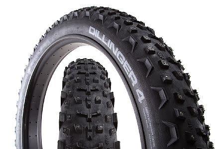 45NRTH Tire, 45NRTH Dillinger 4  27.5 x 4, Tubeless 120tpi, 252 Concave Studs