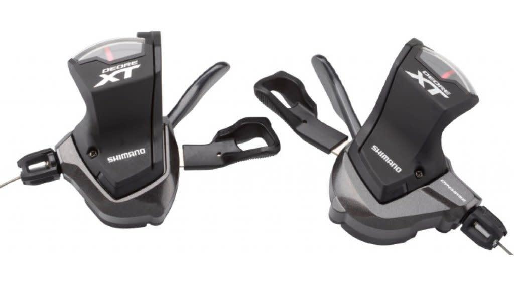 Shimano Shifter Set, Shimano XT M8000 2/3 x 11-Speed