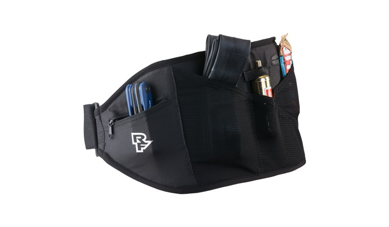 RaceFace Lumbar Belt, Race Face Rip strip