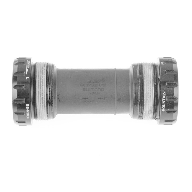 Shimano BB-MT800, Shimano RIGHT & LEFT ADAPTER(BSA)