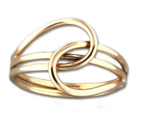 Mark Steel Passing Tier Ring 64 Gold Filled