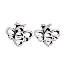Steven + Clea Bumble Bee Sterling Silver Earrings